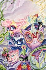 Comic issue 30 Comics and Ponies cover textless