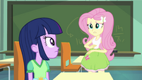 "Fluttershy ""I never sent you a text"" EG"