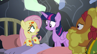 "Fluttershy ""have you heard from Zecora?"" S7E20"
