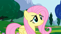 Fluttershy right before -loudest- yay S1E16