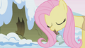 Fluttershy ringing a bell S1E11.png