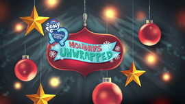 Holidays Unwrapped title card EGHU