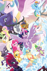 My Little Pony The Movie Prequel TPB cover textless