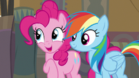 "Pinkie Pie ""all you gotta do is make it right"" S7E18"
