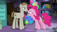 "Pinkie Pie enraged ""I don't care!"" S8E3"