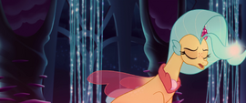 Princess Skystar sighing with disappointment MLPTM