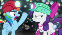 "Rainbow ""supposed to be on an adventure"" S8E17"