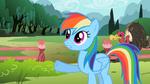 Rainbow Dash 'set a few rules' S2E07