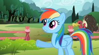 Rainbow Dash 'set a few rules' S2E07