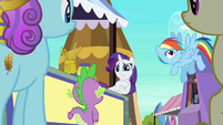 Rainbow Dash edges away S3E2