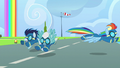 Rainbow barely avoids Soarin and Fleetfoot S6E7.png