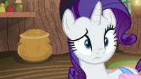 Rarity looking sort of confused S8E11