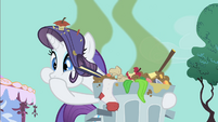 Rarity revolted by the stench S1E25