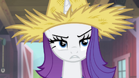 Rarity unconvinced S4E13