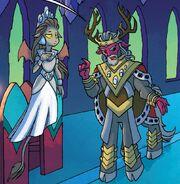 Rey Vorak y Reina Haydon