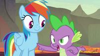 Spike -I beat you down the ridge- S7E25