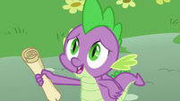 Spike takes out a scroll S8E24