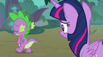 Spike walks away from Twilight S8E11