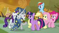 Star Swirl -I alerted the princesses- S9E2