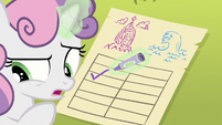 "Sweetie Belle ""too far from Equestria"" S8E6"