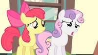 Sweetie Belle 'She's staying home' S4E05