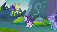 Thorax placing blame on Starlight Glimmer S7E17
