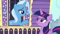 Trixie --really shows how wise a princess-- S6E25