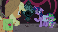 "Twilight ""all unicorn magic was gone"" S8E25"