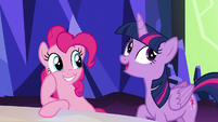 Twilight --you'd have to be a complete crazy pony-- S5E22