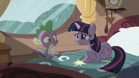 "Twilight and Spike ""what have I done"" S03E13"