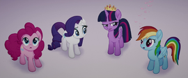 Twilight blames Rainbow for storm clouds MLPTM