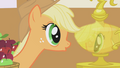 Applejack fascinated by reflection S1E04.png