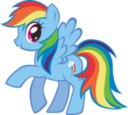 Canterlot Castle Rainbow Dash 3