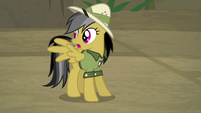 "Daring Do ""stone and magic, not alive!"" S9E21"