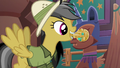 Daring Do inserts amulet into keyhole S6E13.png