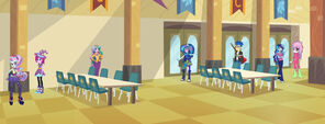 Equestria Girls V.I.F. - cafeteria layout left
