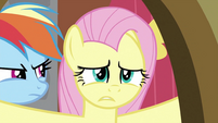 Fluttershy about to say NO S2E21