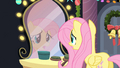 Fluttershy looking in the mirror S2E11.png