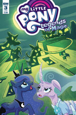 Legends of Magic issue 3 sub cover