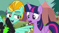 Lightning Dust -bring your friends!- S8E20
