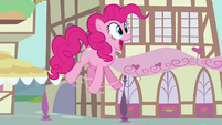 Pinkie Pie big gasp S02E18