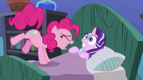 Pinkie Pie loudly wakes up Starlight S7E4