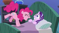 Pinkie Pie loudly wakes up Starlight S7E4