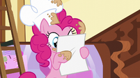 Pinkie reads the scroll S5E19