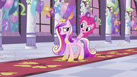 Pinkie with Cadance S2E25