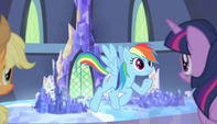"Rainbow Dash"" adventure along that route"" S5E01"