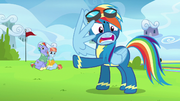 Rainbow Dash -you've invited a whole lot of crazy- S7E7