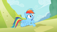 Rainbow Dash oh not good S2E8