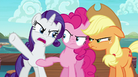 """Rarity """"the middle of the ocean!"""" S6E22"""