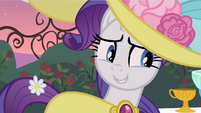 Rarity made thinking S2E9